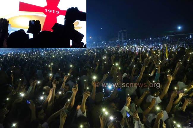 SAYFO - SYRIAC CHRIASTIN GENOCIDE REMEMBERED, Kerala, India Jan 2015