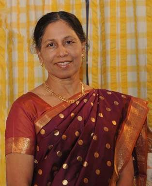Dr. Shila Mathew, MD., Food and Living Editor of Malankara World