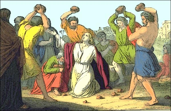 Stoning of St. Stephen, The First Martyr of the Church