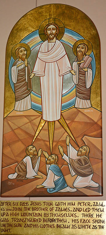 Transfiguration of Jesus Christ Photo by Dr. Jacob Mathew, Malankara World