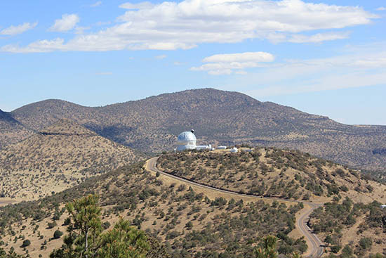 West Texas Hill Country with McDonald Observatory Photo by James Boroff