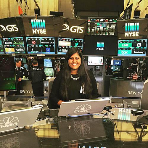 Ann at NYSE