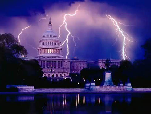 Lightning at USA Capitol
