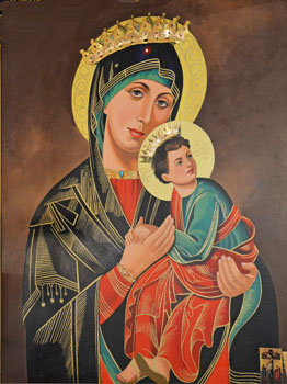 St. Mary with Jesus - Photo by Dr. Jacob Mathew