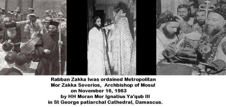 Ordination of Rabban Zakka Iwas