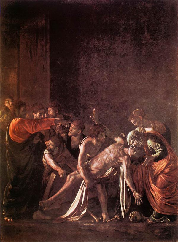 Resurrection of Lazzarus - Caravaggio